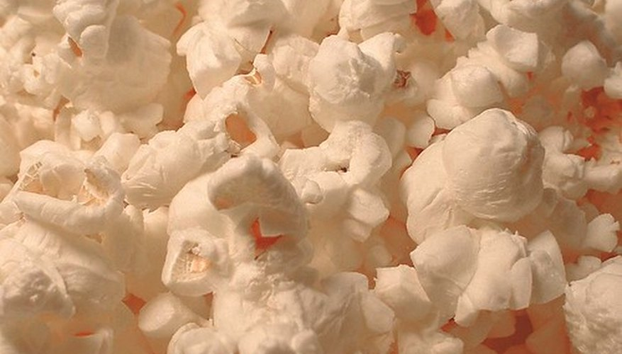 Popcorn kernels explode when steam builds inside the hull.