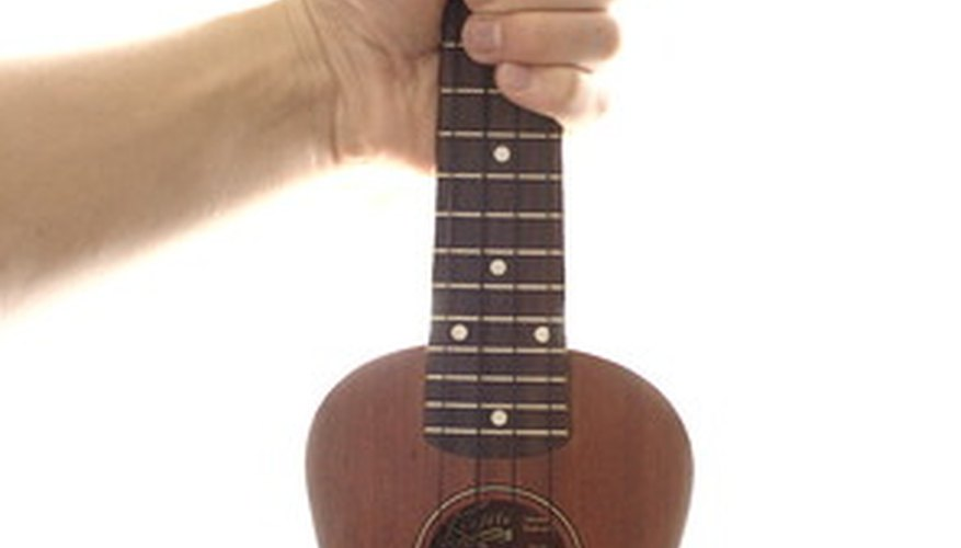 A Ukulele is a small, guitarlike instrument.