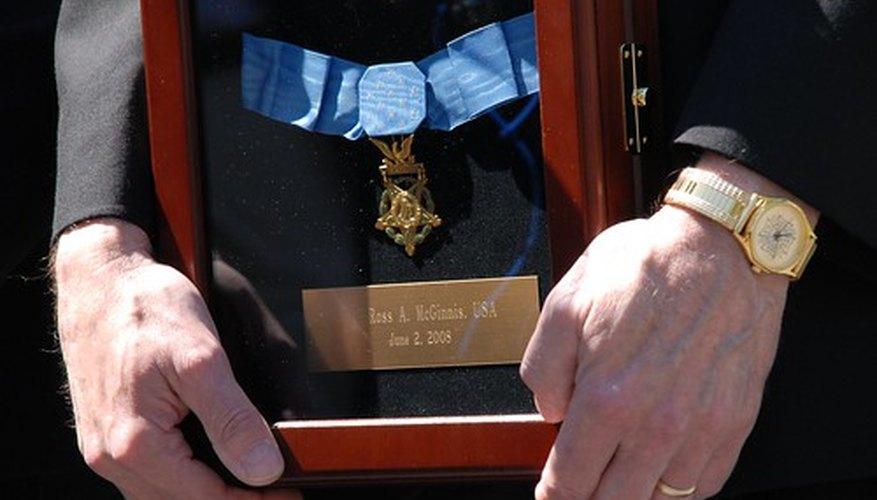 The medal of valor awards bravery.