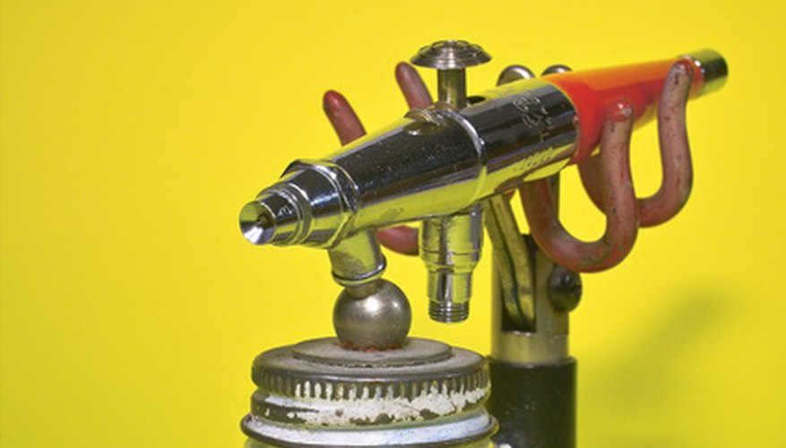 An airbrush should be disassembled and cleaned once a week.