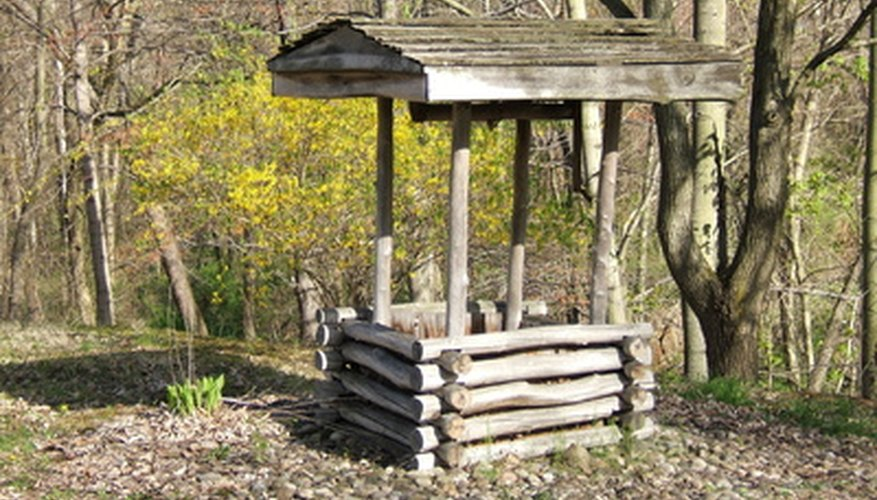 Many homeowners have no choice but to use a well for household water.