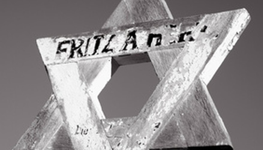 The Star of David, the symbol of Israel