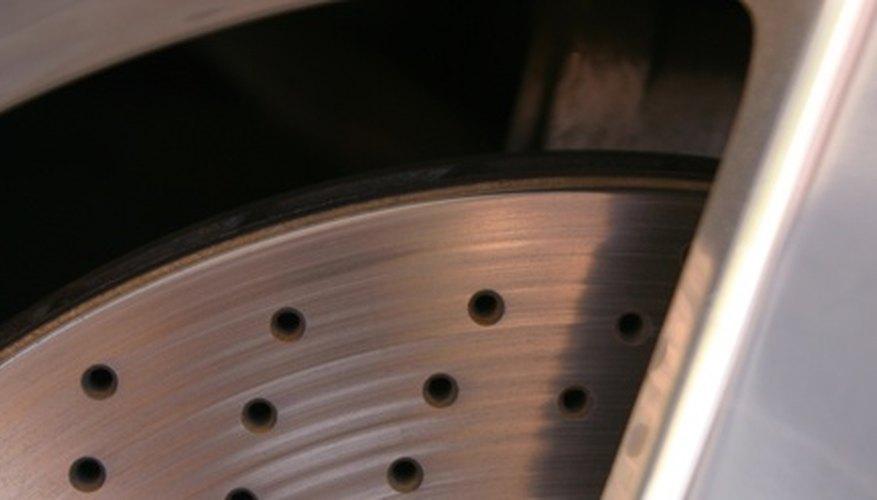 Auminum brake discs offer several advantages.