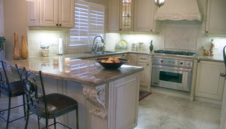 Carousel-type corner cabinets offer convenience in your kitchen, but may occasionally need adjusting.