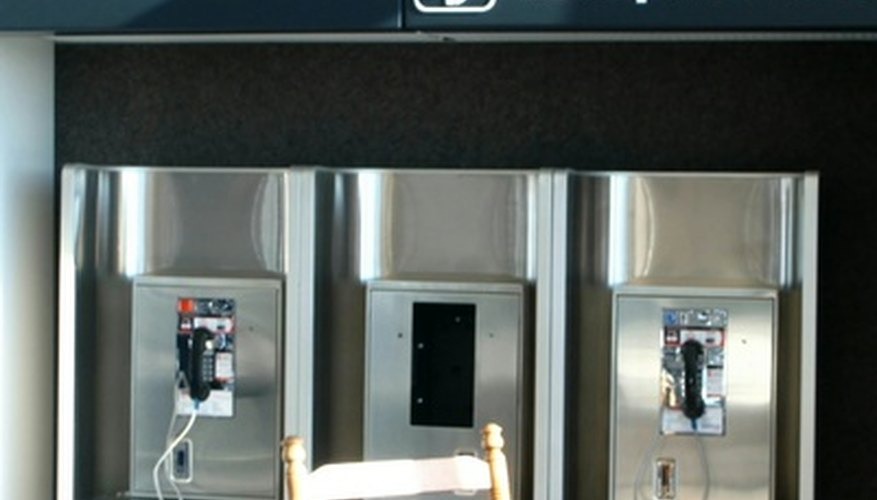 It's possible to determine the location of a pay phone from its phone number.