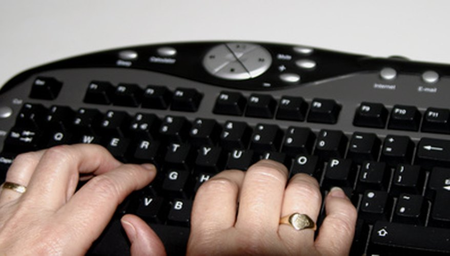 Unlike most keyboards, the Ergonomic Keyboard has a curved layout.