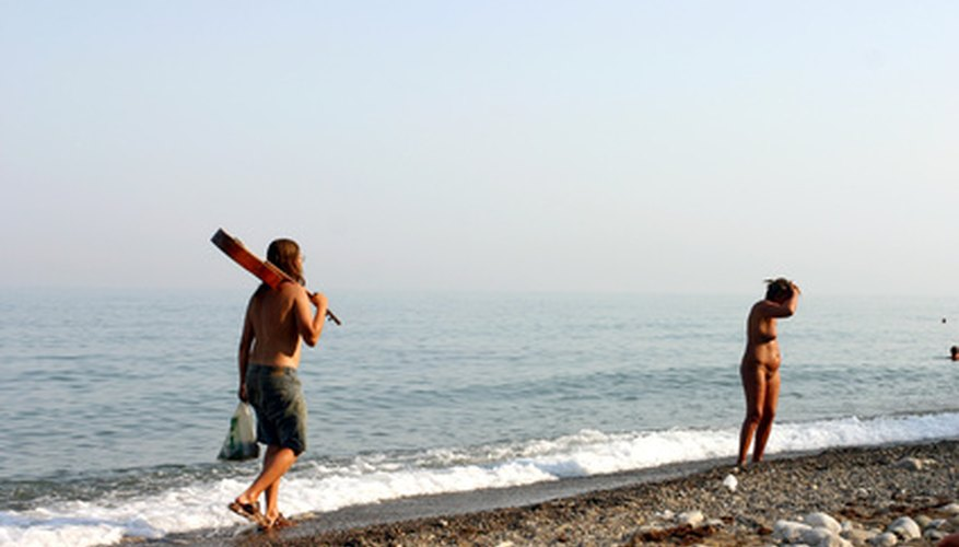 There are many family-oriented naturist destinations.