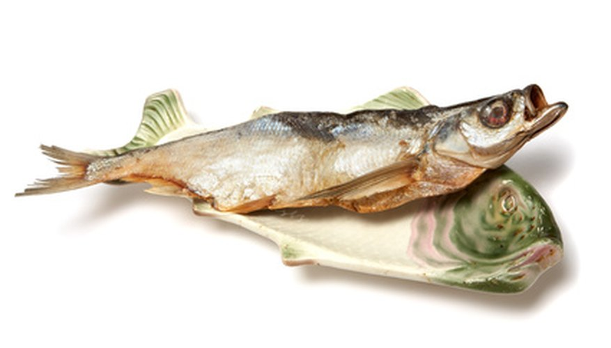 Much of the fish sold in grocery stores and restaurants comes from fish farms.