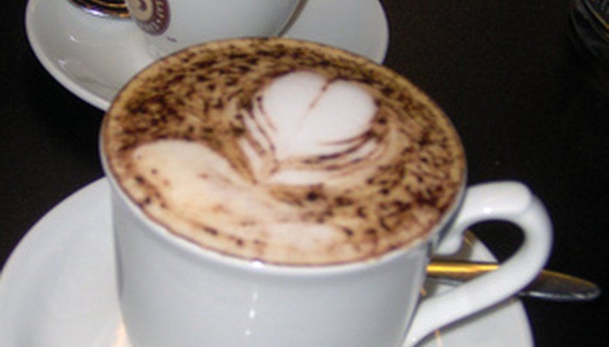 The aluminium boiler can dispense steam for frothing milk and creating cappuccinos.