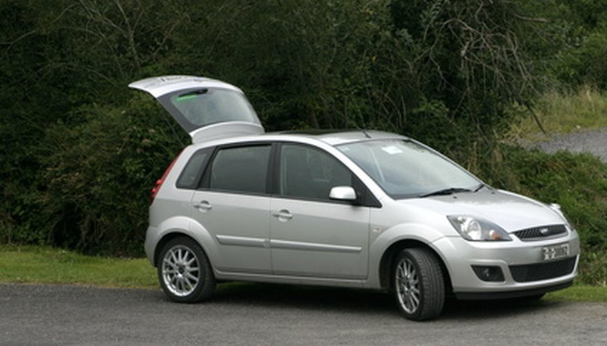 The Ford Fiesta MK6 is easy to maintain