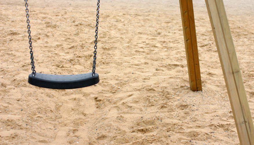 You can build a wooden swing for your children in less than a day.