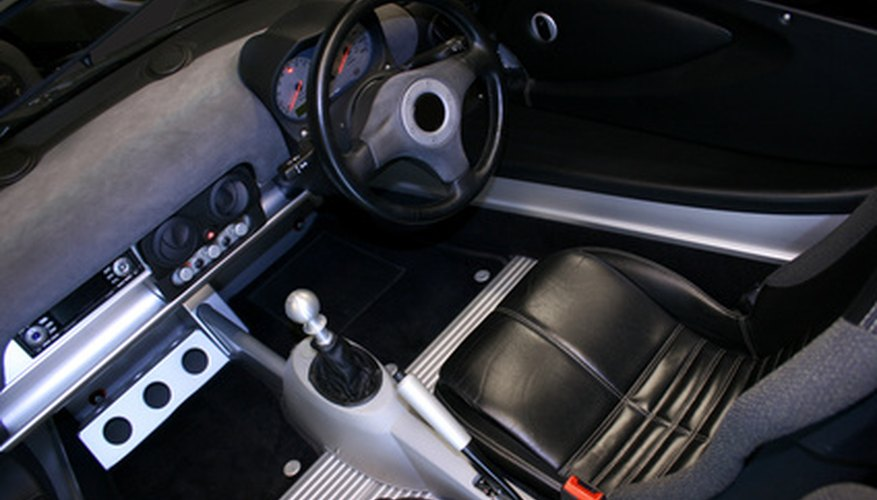 The Mercedes Benz SL navigation system is reset from the interior.