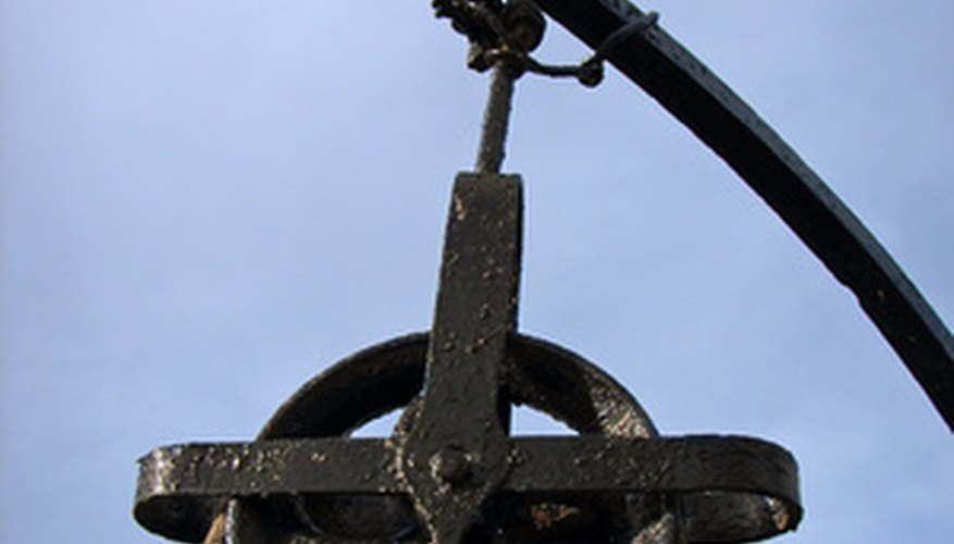 Pulleys are an age-old simple machine still commonly used today.