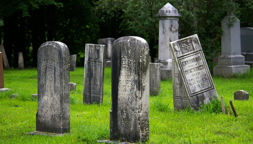 There are ways to find out whether there may be a bit of the graveyard about your house.