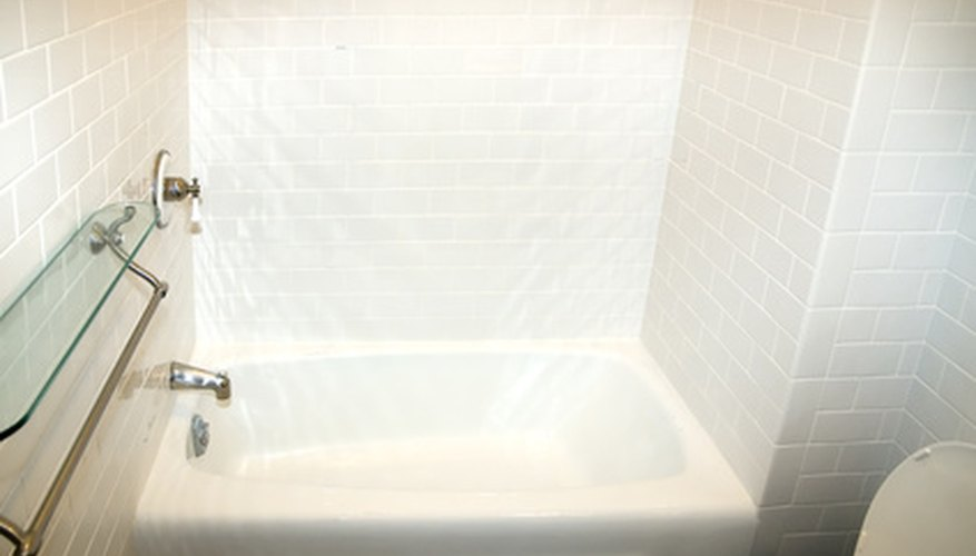 Keep your bathroom bright by whitening old sealer caulk.