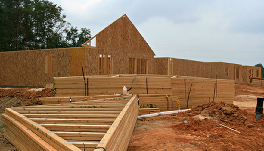 Timber frame construction forms the skeleton of many homes.