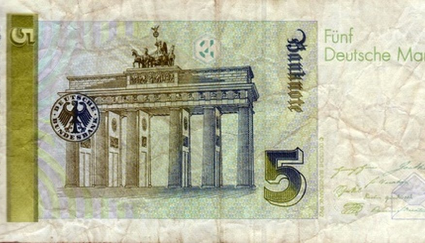 Currency often uses watermark designs to prevent false distribution.