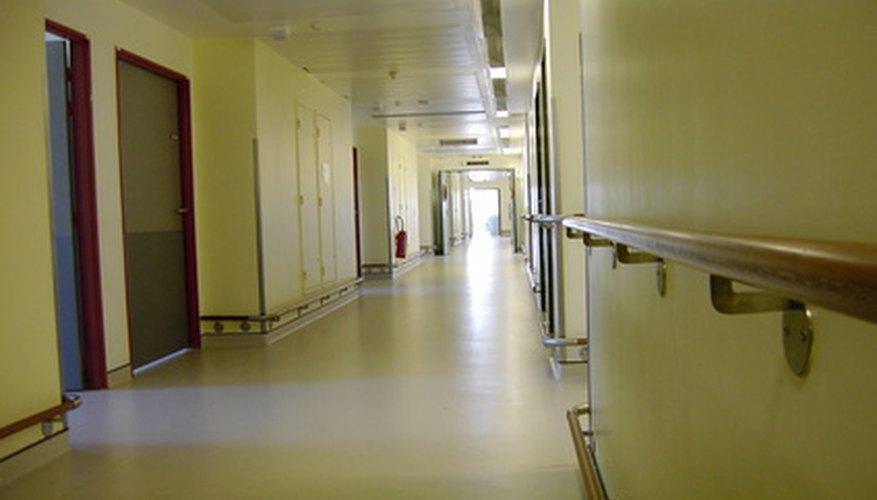 Porters help doctors and nurses treat hospital patients.