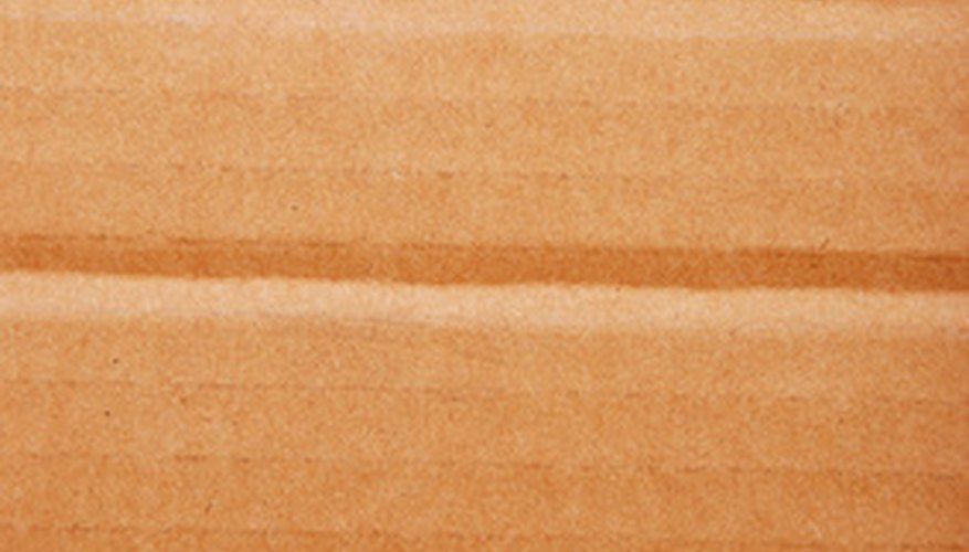 Cardboard is lightweight but easily damaged.