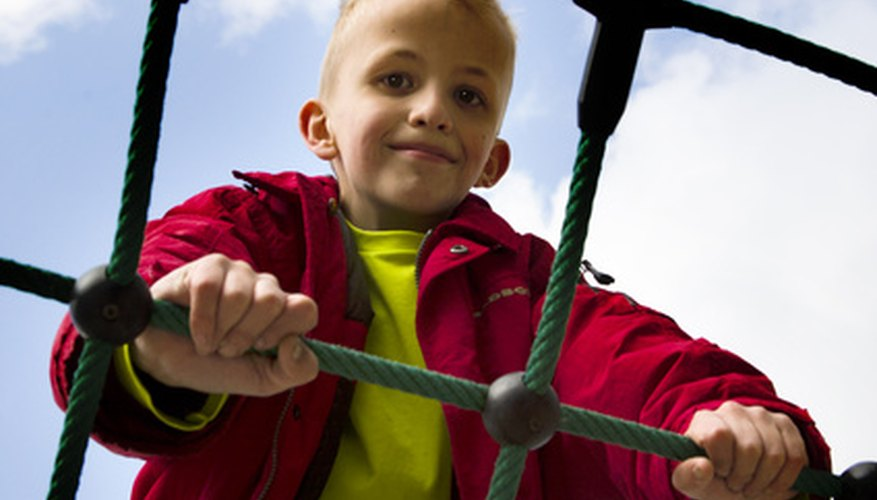 It is important for a child to learn how to manipulate his body in different environments.
