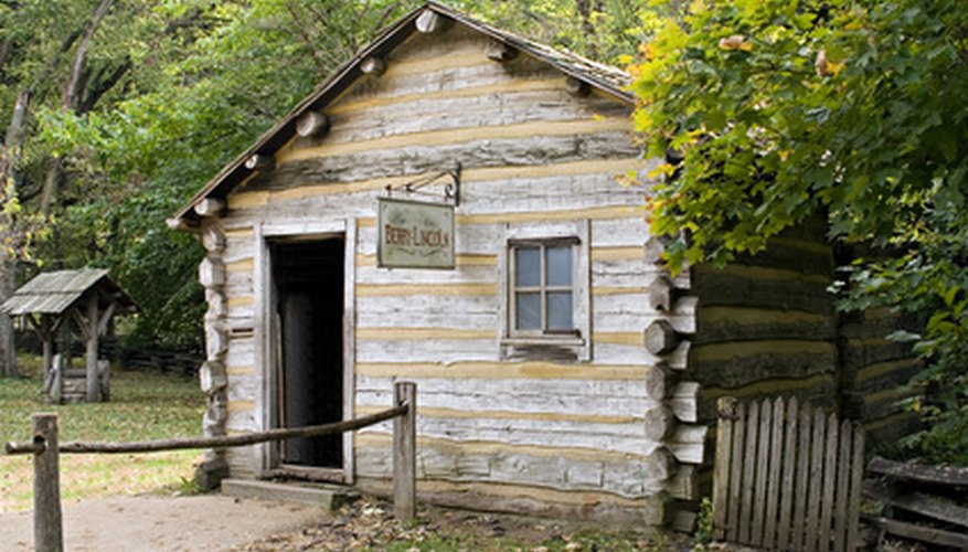 The log cabin is a perfect example of housing joints in action.