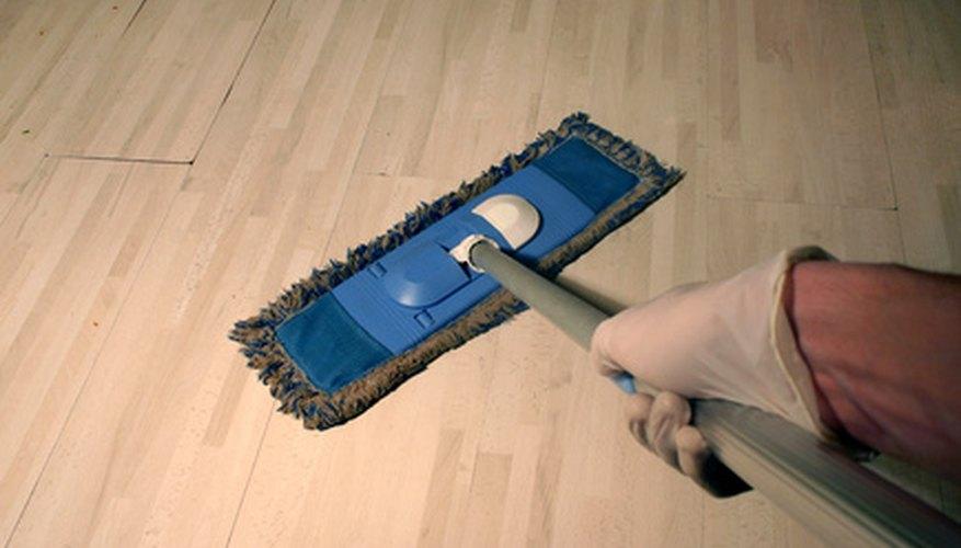 Hardwood floors are often hidden beneath carpeting.