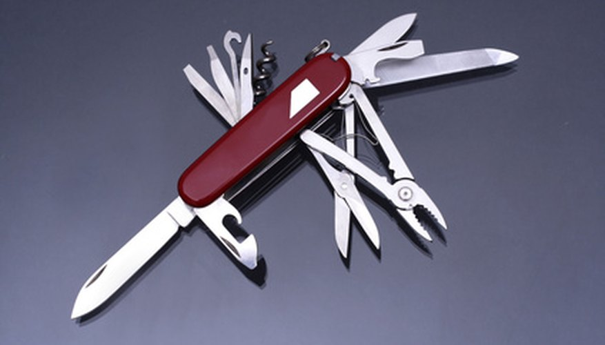 The Swiss Army Knife offers many tools in one package.