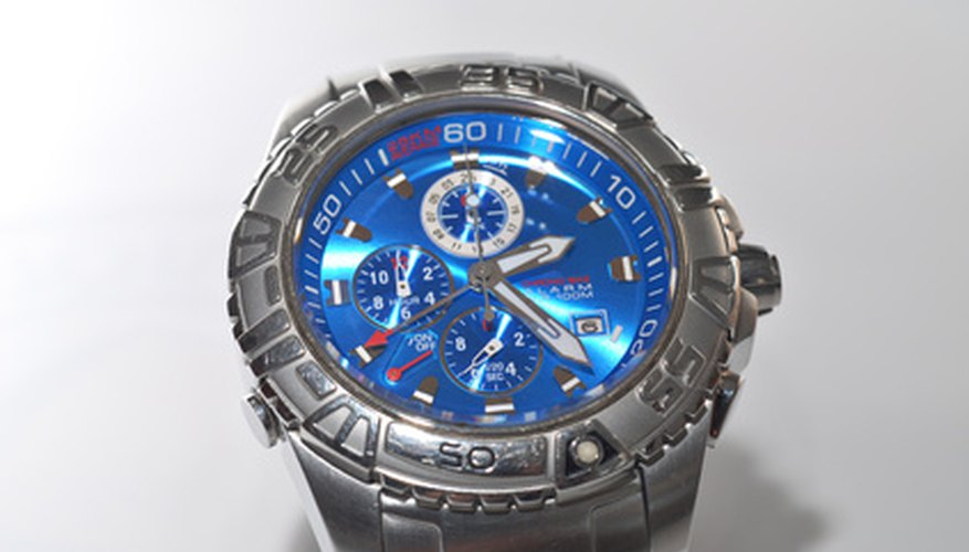 Chronograph watches typically incorporate a stopwatch feature with traditional timekeeping.