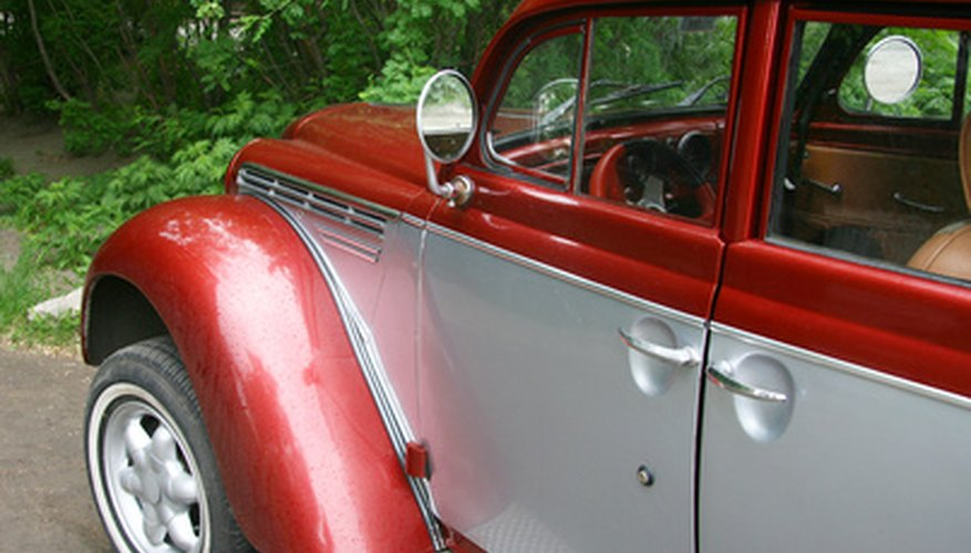 The Environmental Protection Agency regulates the painting of vehicles at home.
