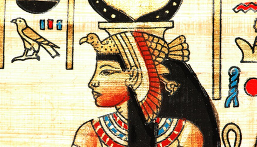 Egyptians kept all their writings on papyrus. Papyrus was Egypt's major export.