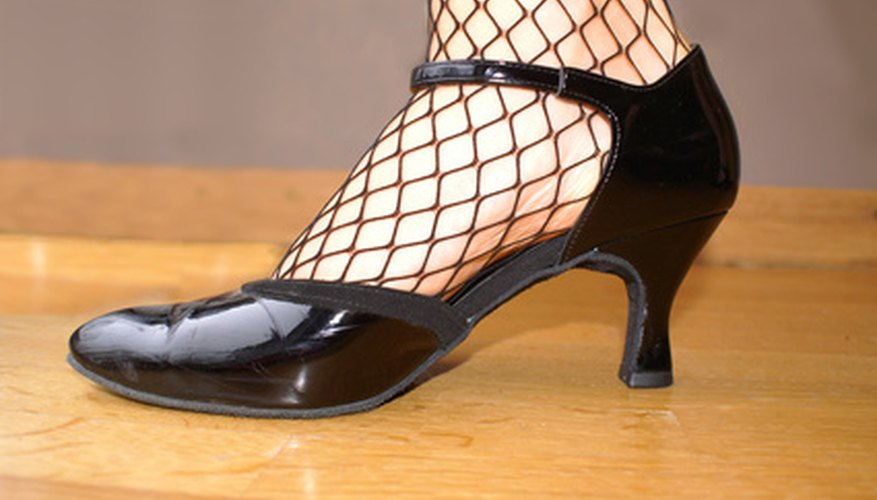 Dance shoes get a lot of wear and tear and require regular maintenance.