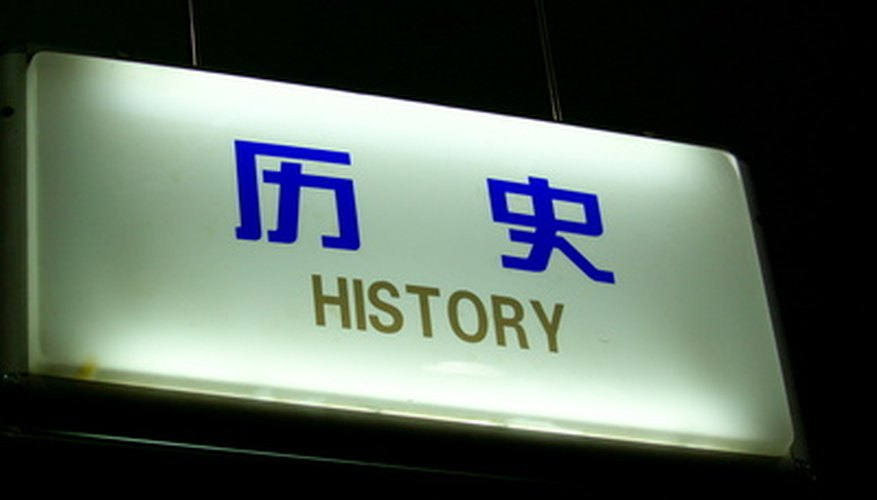 Historiography puts history under a magnifying glass.