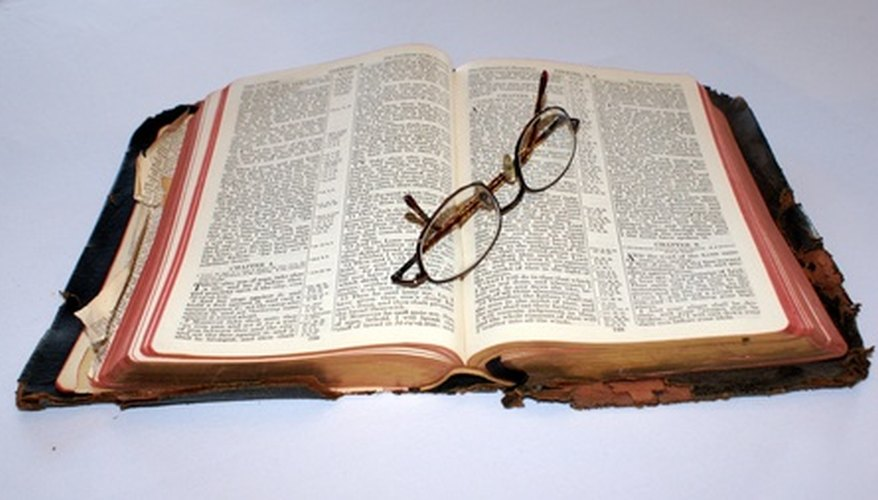 Compare different translations of the Bible online.