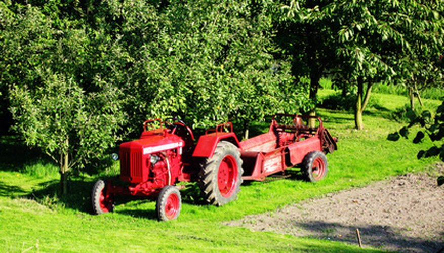 The Perkins 248 powers many tractor models.