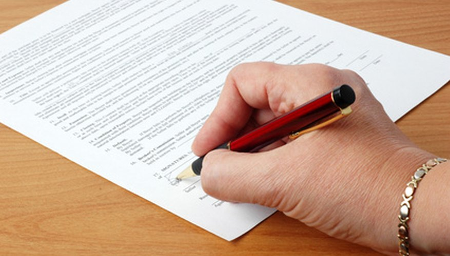 A rider, or contract addendum, contains changes or additions to an original contract.