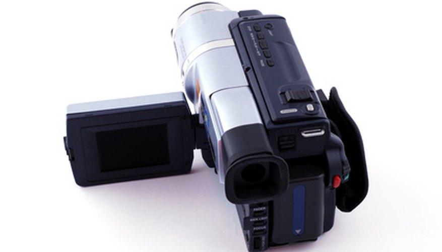 Many Sony video cameras still use tapes to record programming.