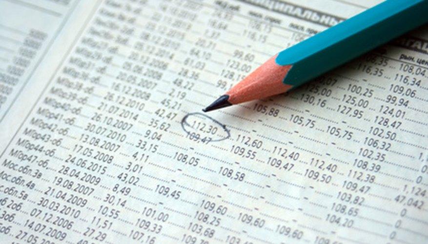 Usa un gráfico para rastrear tu inventario.