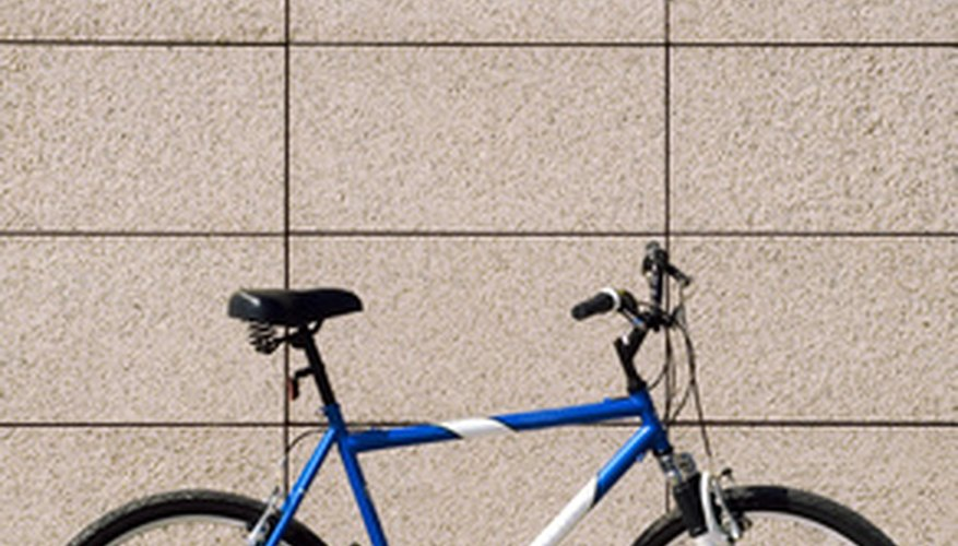Add a custom look to your bike with paint stencils.