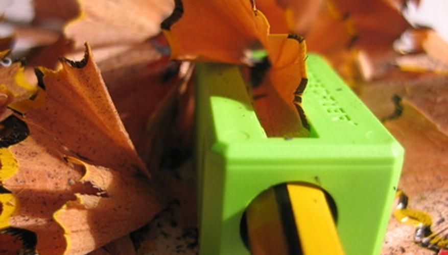 Many standard pencil sharpeners can sharpen triangular pencils.