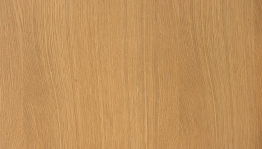 Apply stain and varnish to limed oak to restore its natural finish.
