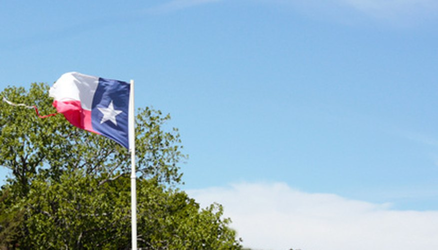 The Lone Star state has been part of six different countries.