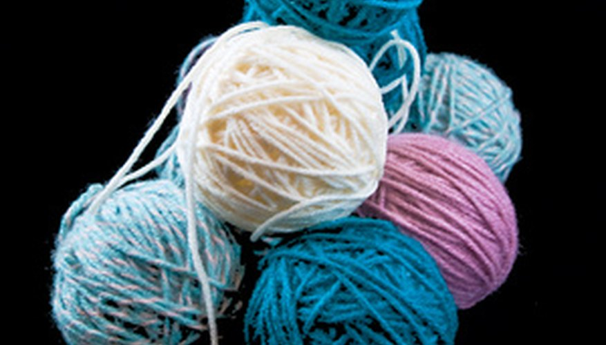 Donate your unwanted yarn to charity.