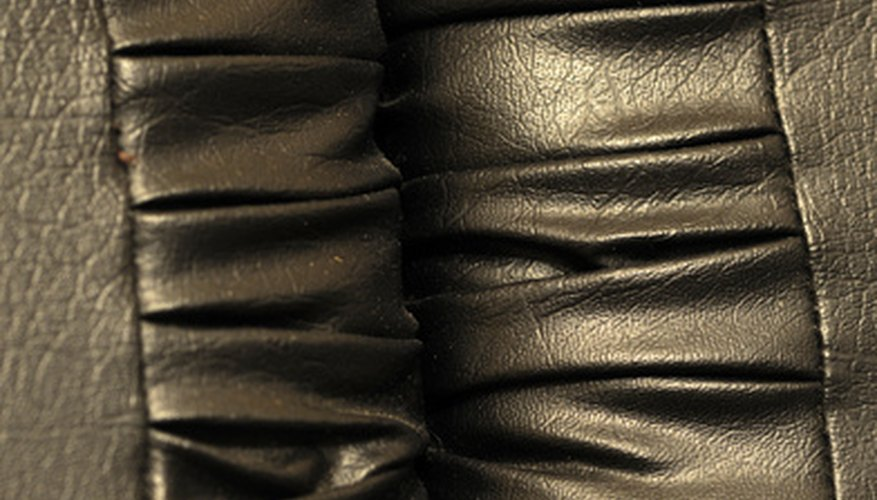 Pleather looks like leather.