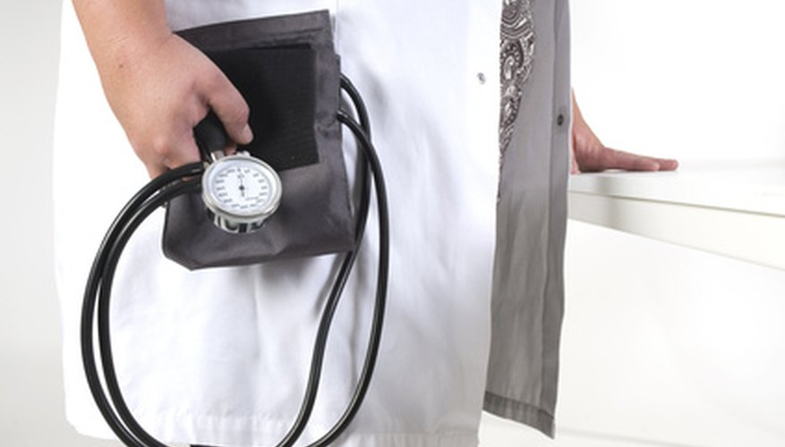 Blood pressure must be carefully monitored before major operations.