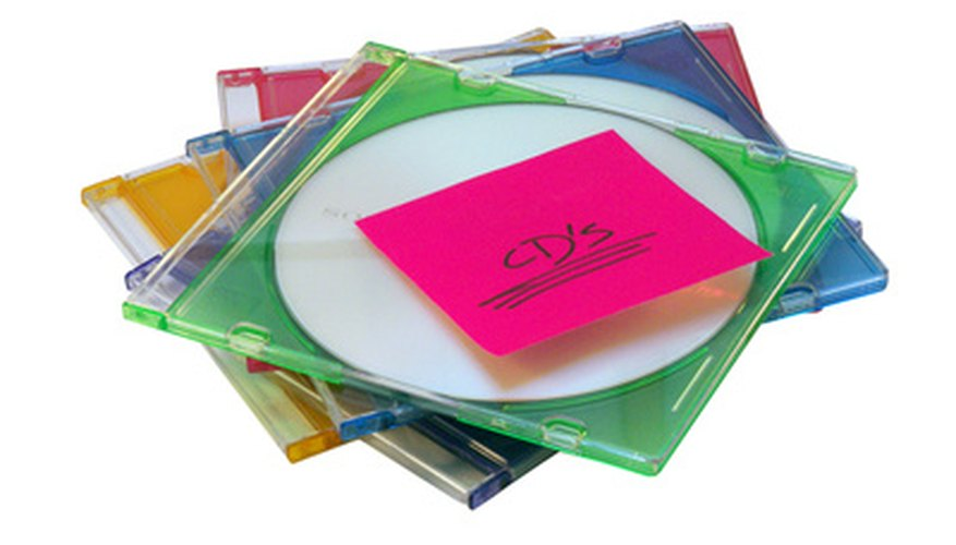 Add song titles, artist information and album artwork to a CD you burn yourself.