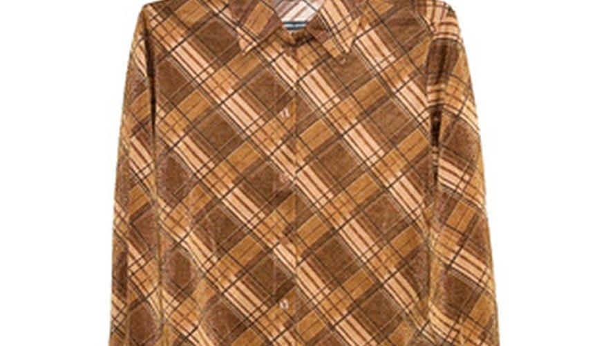 Polyester shirt.
