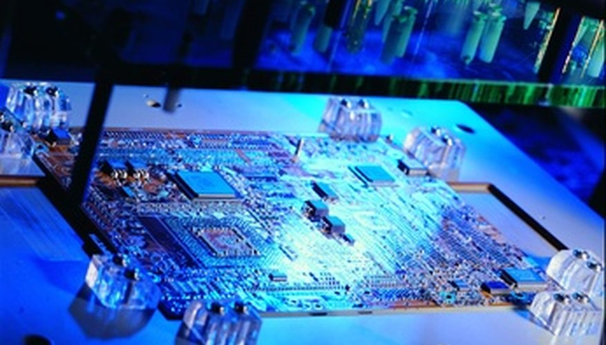 The system board is the hub of all computer components.