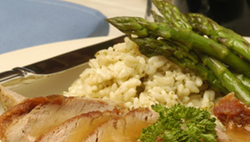 The safest and most effective way to defrost a pork tenderloin is in the refrigerator.