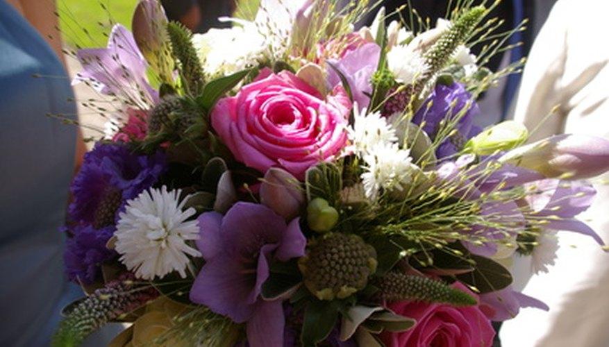 Flowers are a beautiful 'break a leg' statement.