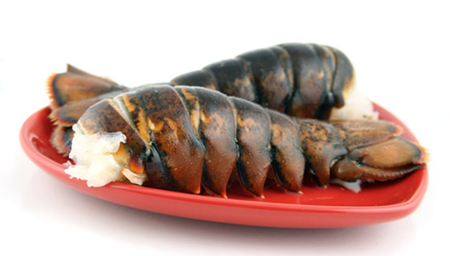 Lobster should not be reheated in a microwave.
